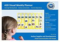 [Autism Supplies]Autism Supplies And Developments PECS Weekly Planner ASD5025 [並行輸入品]