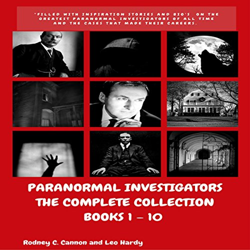 Paranormal Investigators, The Complete Collection audiobook cover art