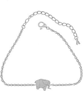 bracelet cheville femme elephant