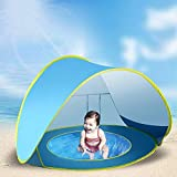 suliper Baby Beach Tent Toy Portable pop up Sun Shade Kiddie Tent Pool