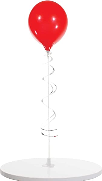 PermaShine Reusable And Helium Free Single Balloon Kit Permanent Plastic Indoor And Outdoor Balloons