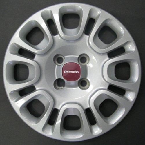 Wheeltrims Lot de 4 enjoliveurs New pour Fiat Panda 2012 > avec Jantes d'origine dans 35,6 cm