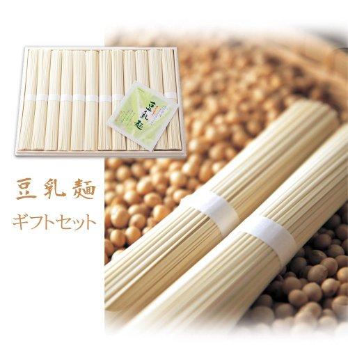 KR-25 豆乳麺12束(ご贈答品 桐箱入り)【熨斗 無料で承ります】