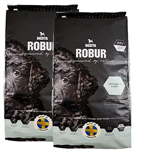 Bozita Robur Mother & Puppy Nourriture pour chiots sans blé 2 x 14 kg