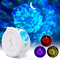 Tesecu Star LED Water Wave Projector Light