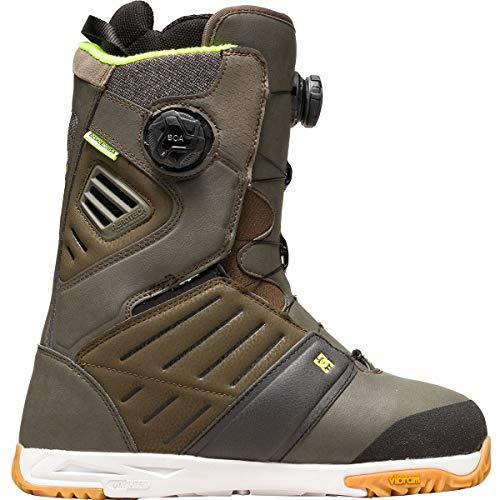 DC Judge Dual BOA Snowboard Boots Green 11.5 D
