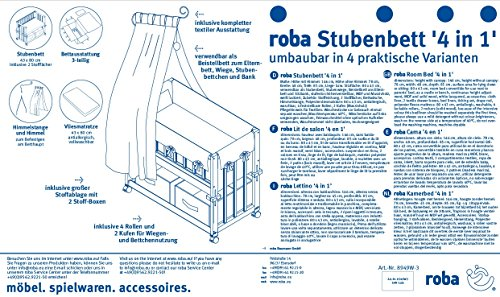 Roba Stubenbett Adam & Eule – Das 4 in 1 Babybett - 5