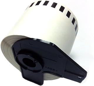 Eseller Direct 100 X Kompatible DK22205 Addressaufkleber für Brother P-Touch QL 1050 N Thermo-Papierrolle, 62 mm x 30,48 m (100 Rollen mit Halterung) B009V135WO  Angemessene Lieferung und pünktliche Lieferung