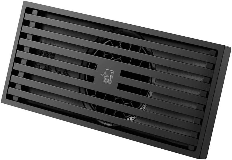 price SUBMARINE Upgraded Brass Matte Black Floor Linear Shower Drain Max 45% OFF R