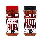 Killer Hogs The BBQ Rub + HOT BBQ Rub Bundle