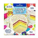 Bakedin Rainbow Cake Baking Kit,...