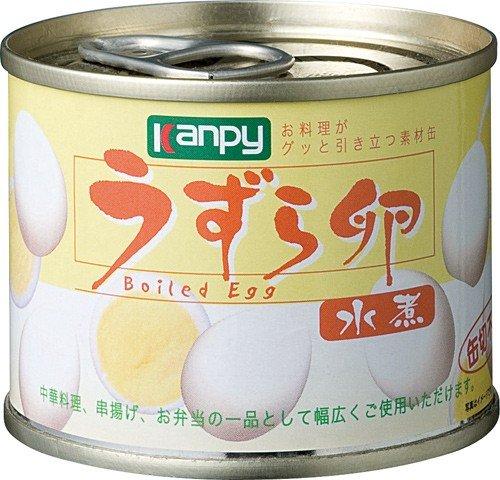 カンピー うずら卵水煮 50g×24個