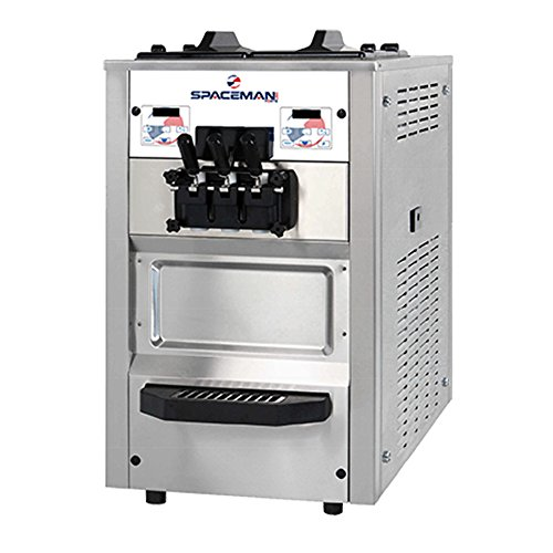 Purchase Spaceman 6235H Two Flavor/Twist Air Cooled Gravity Countertop Soft Serve Ice Cream Machine ...