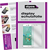 dipos I 2X Schutzfolie klar kompatibel mit Nubia Z17 Mini Folie Bildschirmschutzfolie