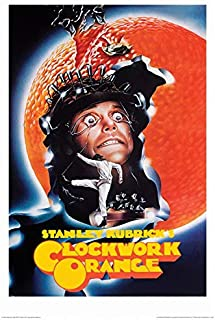 Global A Clockwork Orange 1971 Movie Promo Poster - 24