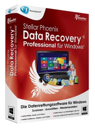Stellar Phoenix Data Recovery 6 Win - Pro