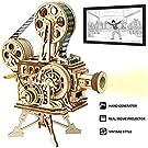 ROKR 3D木製パズル 機械モデルキット 大人用 DIYクラフトキット ビタスコープ