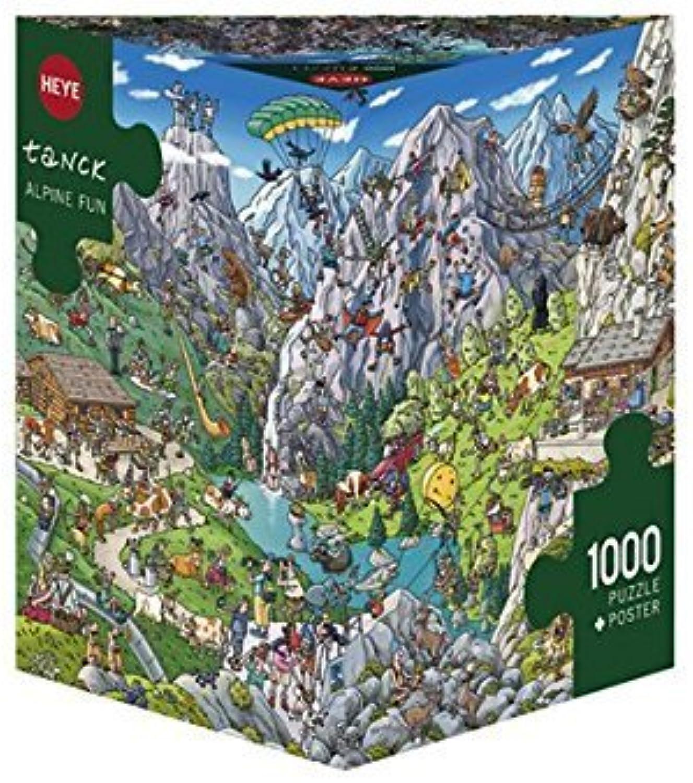 Heye Triangular Alpine Fun Tank Puzzles (1000-Piece) by ToyMarket