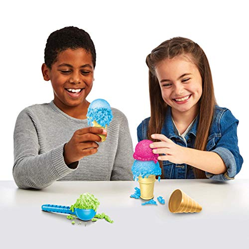 The The Foam Alive Ice Cream Kit is a popular toy for girls ages 6 to 8