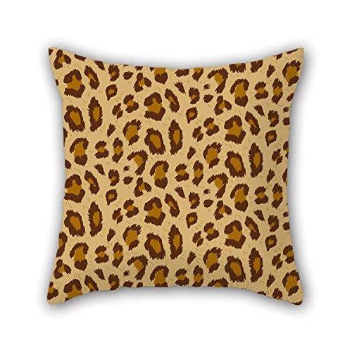 N\A Fundas de Almohada de Tiro de Leopardo de Regalo de decoración para Sala de Baile, Silla de Cubierta para Amantes del Cine en casa (Lados Dobles)