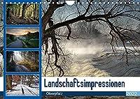Landschaftsimpressionen Oberpfalz (Wandkalender 2022 DIN A4 quer): Die besondere Lichtstimmung begeistert den Betrachter. (Monatskalender, 14 Seiten )