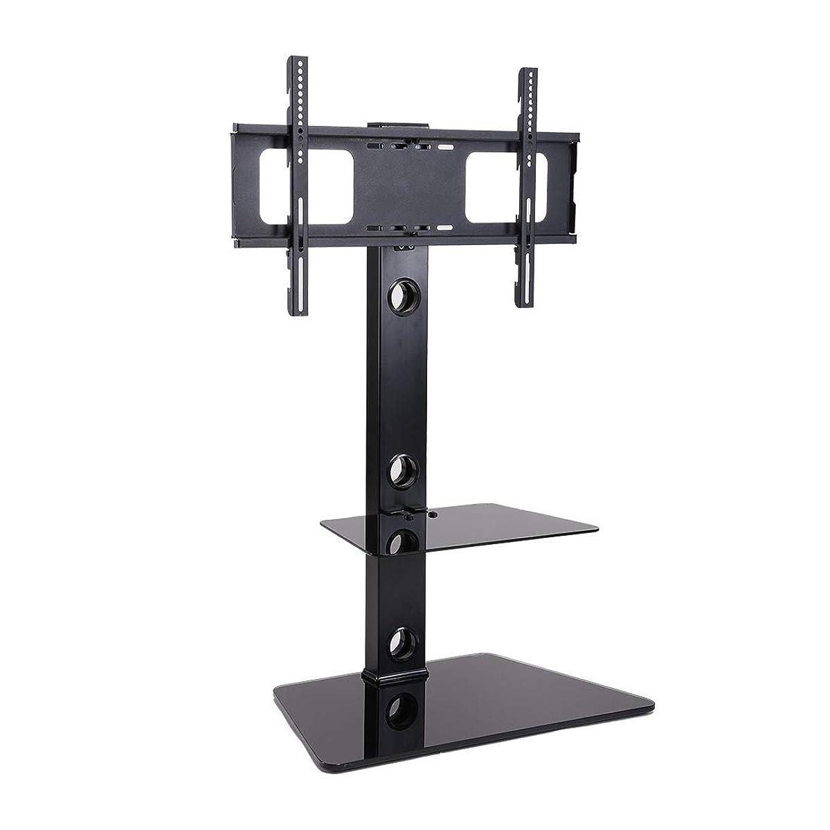 アスリート厚くするキャストFleximounts テレビスタンド 壁寄せテレビ台 32-65インチのテレビに推奨 耐荷重40KGまで 地震転倒防止対策 高さ調節可能 TS01