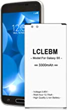 Galaxy S5 Battery | LCLEBM S5 Battery 3300mAh Li-ion Replacement Battery for Samsung..