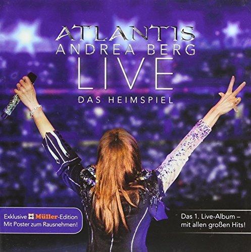 Atlantis-Live Das Heimspiel by BERG,ANDREA (2014-11-18)