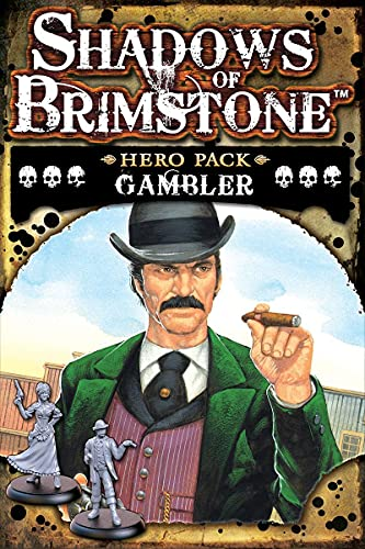Shadows of Brimstone Hero Pack Gambler