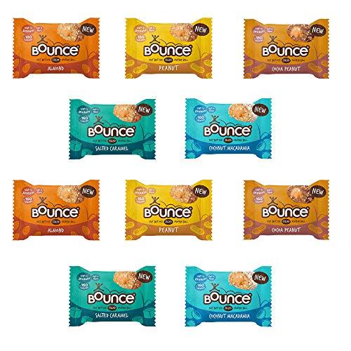 Bounce Energy Balls Range Mixed Case 10 x 35g