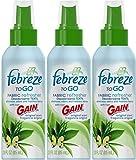 Febreze to Go Fabric Refresher with Gain Original Scent, 2.8-Ounce, (3)