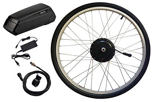 Clean Republic Electric Bike Kit 350 Watt 36 Volt Hill Topper Ranger, Lithium Battery Included (26'...