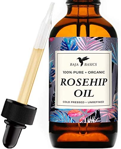 Rosehip Seed Oil by Baja Basics 100 Pure Cold Pressed All Natural Toxin Free Anti Aging Ultra product image