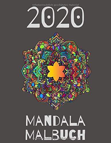 Mandala Malbuch 2020: für Jungen, Mädchen, Kinder und Erwachsene perfekte Entspannung Malbuch für Mädchen, Weihnachtsgeschenke