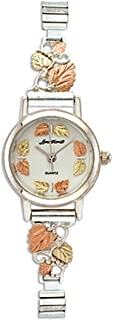 Landstroms Gold On Silver Ladies Watch and Band - MRL9284B/9250