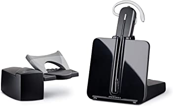 Plantronics CS540 Wireless DECT Headset System with handset lifter, Black/Silver (CS540 with HL10)