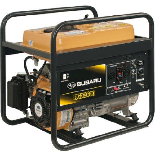 Hot Sale Subaru RGX3600 Industrial Generator, 3600-Watt