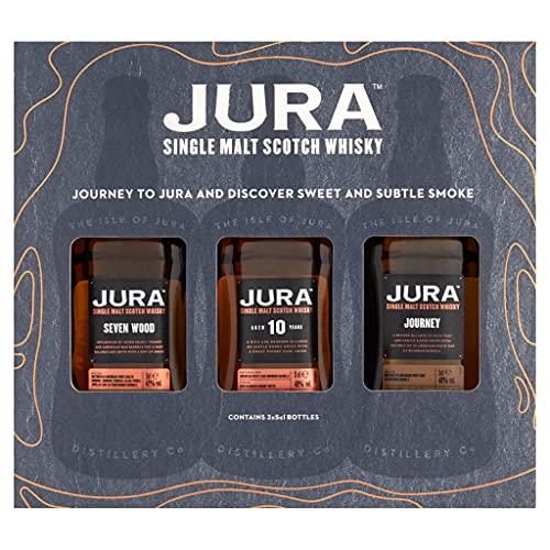 Jura JOURNEY TO JURA Mini Set 40,7% Volume 3x0,05l in Geschenkbox Whisky