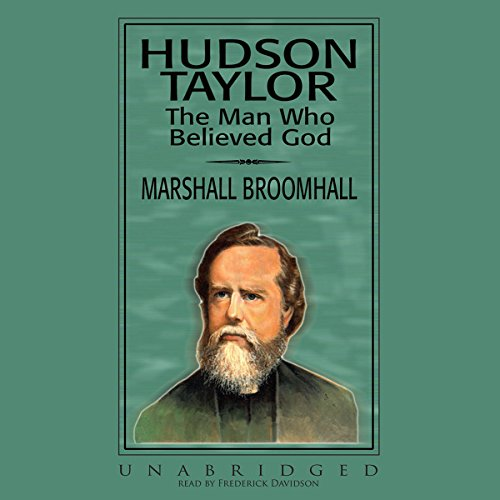 Hudson Taylor audiobook cover art