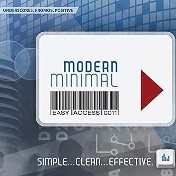 Modern Minimal: Easy Access