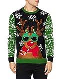 Cooler Rudolph Pullover für Weihnachten