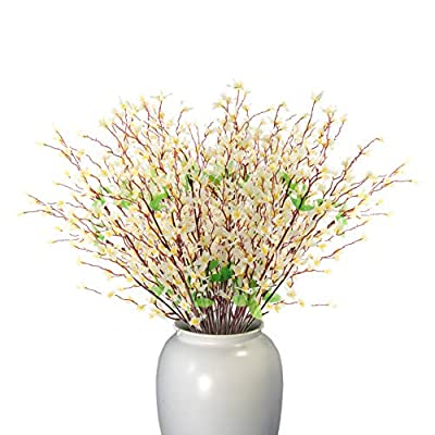 Beferr Artificial Winter Jasmine Bouquets Long ...