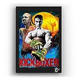 Jean Claude Van Damme aus Film Kickboxer (Karate Tiger 3) -