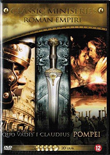 Roman Empire 3 Max 53% OFF Classic Free shipping / New Mini-Series - Quo 5-DVD Set Box Vadis