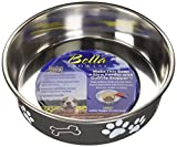 Loving Pets 7406 Bella Bowl for Dogs, Large, Espresso