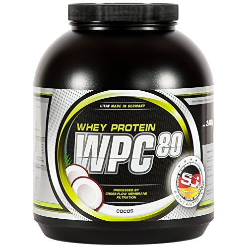 S.U. WPC-80, Whey Concentrate, Cocos, 2000g