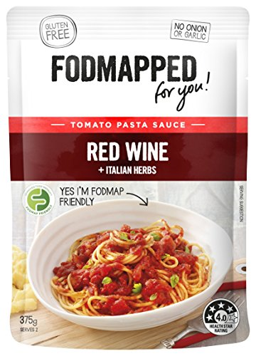 Fodmapped Red Wine and Italian Herbs Tomato Paste Sauce, 375 g