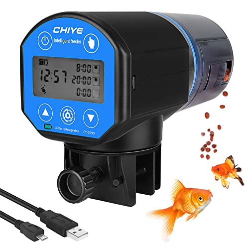 Lukovee Automatic Fish Feeder