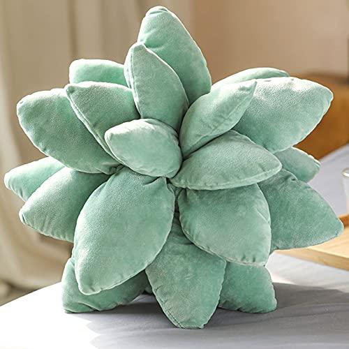 GHMPNLG Almohada suculenta, decoración del hogar, una suculenta Almohada de decoración de Cactus, Hecha de Material Premium, para Adultos de Todas Las Edades, Regalos reflexivos de cumpleaños