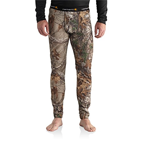 Carhartt Men's 102225 Base Force Extremes Cold Weather Camo Bottom - Large - Realtree Xtra